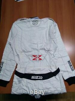 Sparco Racing Suit In Hocotex Extrema Rs-10 White Fia 8856-2000 White Size 50