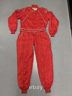 Sparco Racing Suit Red Size 66 (XXL)