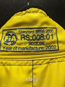 Sparco Racing Suit Yellow Size 62 (XL)