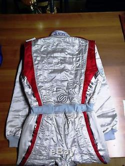 Sparco Rally Racing Race Overall Suit Tecnica 52 Fia 8856-2000 Free Shipping