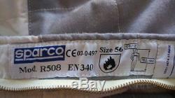 Sparco Rennoverall, current FIA norm, size 56, racesuit, youngtimer
