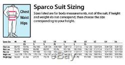 Sparco Robur KS-5 Go-Karting Race/Track CIK FIA Suit SIZE LARGE BLUE