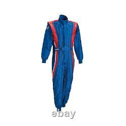 Sparco SAETTA K-5 Kids Suit blue (CIK FIA Homologation) Genuine 120