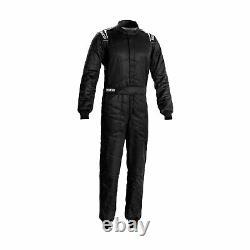 Sparco SPRINT MY20 Race Suit Black (FIA homologation)- 56 EU