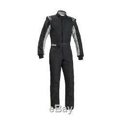 Sparco SPRINT RS-2.1 Race Suit Black/White (FIA homologation) 64