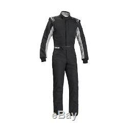 Sparco SPRINT RS-2.1 Race Suit Black/White (FIA) s. 52