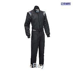 Sparco SPRINT RS-2 Black Race Suit (FIA homologation) size 48