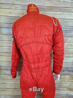Sparco Size 56 Vintage Racing Suit 1987 Italian Pit Stop Rolex NASCAR