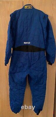 Sparco Spring RS2.1 race suit blue size 58 great condition