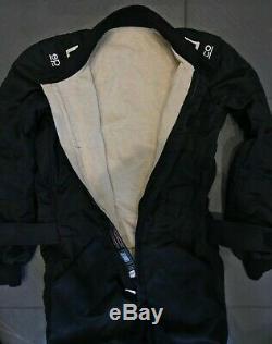 Sparco Sprint FIA Approved Nomex Race Suit Black Size 48
