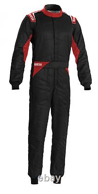 Sparco Sprint FIA Approved Race Suit Black/Red Race / Rally