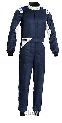 Sparco Sprint FIA Approved Race Suit Blue/White Race / Rally