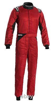 Sparco Sprint FIA Approved Race Suit Red/Black Race / Rally