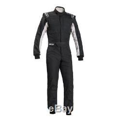 Sparco Sprint RS-2.1 Race Suit Size 56 Black/White