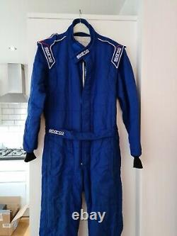 Sparco Sprint RS 2 Race Suit Hardly Used- Blue, Size 52