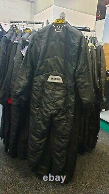 Sparco Sprint Racing Suit / Black / Size 58