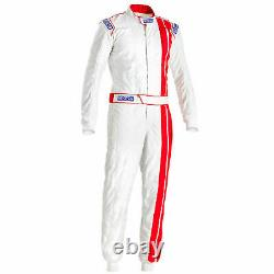 Sparco Vintage Classic FIA Approved Race Rally Suit Size 52