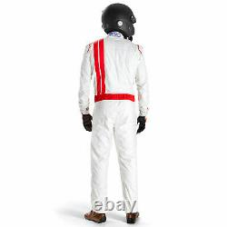 Sparco Vintage Classic FIA Approved Race Rally Suit Size 58