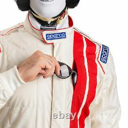 Sparco Vintage Classic RS-5.1 3 Layer Race Suit Flame Resistant FIA Approved