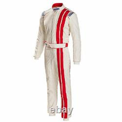 Sparco Vintage Classic Race Suit FIA 8856-2000 Approved Racing