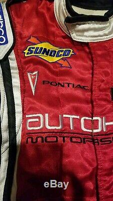 Sparco Womens L R517 Racing Suit Autohaus Rolex Pirelli Pontiac Fr Conder Red