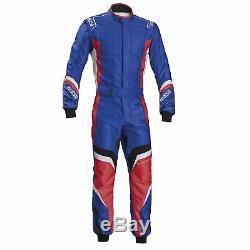 Sparco X-Light KS-7 CIK FIA Level 2 Kart / Karting Suit Blue / Red Size 54
