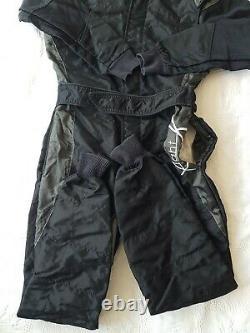 Sparco X-Light Mens Racewear Suit / Black / White/Go-Karting/Racing. Size 46/ SM