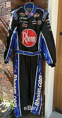 Sparco XL 36W x 32L Rheem Harvick RCR Racing 1-PC Nascar Crew Fire Suit SFI BUD