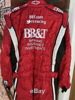 Sparco XL 38W x 32L BB&T RCR Racing 1-PC Nascar Fire Suit SFI Burton Nomex Chevy