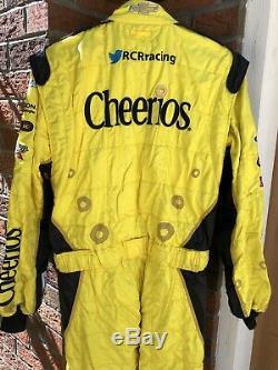 Sparco XL 38W x 32L CHEERIOS RCR Racing 1-PC Nascar Fire Suit SFI Jeff Burton