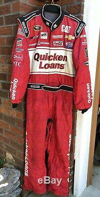 Sparco XL 38W x 32L Quicken Loans RCR Racing 1-PC Nascar Fire Suit SFI NEWMAN