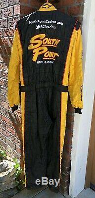 Sparco XL 38W x 32L South Point Casino RCR Racing 1-PC Nascar Fire Suit SFI FIA