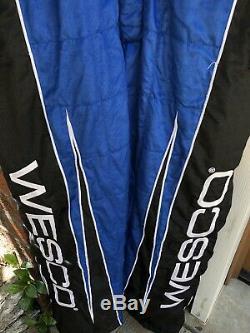 Sparco XL 38W x 32L WESCO RCR Racing 1-PC Nascar Fire Suit SFI Nomex TY DILLON