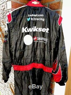 Sparco XL 38W x 33L Kwikset SmartKey RCR Racing 1-PC Nascar Fire Suit SFI NEWMAN
