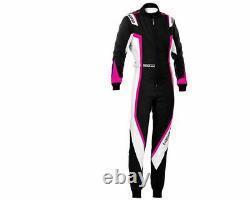 Sparco kerb lady childs kids karting suit race suit go kart