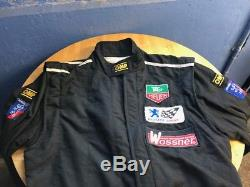 Sparco race overalls with patches