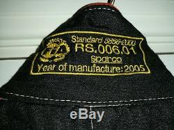 Sparco race suit FIA size 52