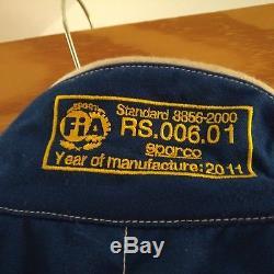 Sparco race suit Size 64 Blue