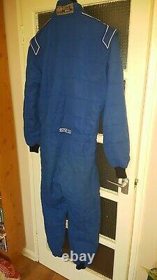 Sparco race suit fia 2000 size 60 nomex