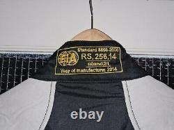 Stand 21 top level FIA 8856-2000 race suit. Sparco omp
