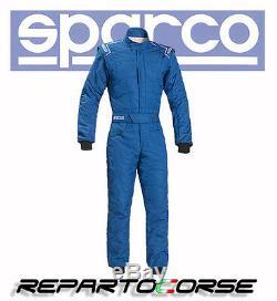 Suit Racing Sparco Sprint RS-2.1 Single Colour Blue Fia 8856-2000 001091