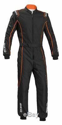 Suit SPARCO GROOVE KS-3 Karting KS3 Kart Overall Black Orange CIK FIA