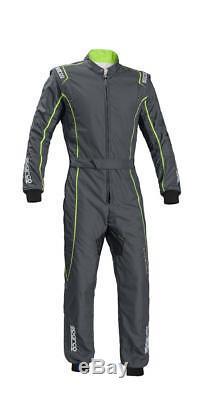 Suit SPARCO GROOVE KS-3 Karting KS3 Kart Overall Grey Green CIK FIA