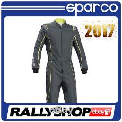 Suit SPARCO GROOVE KS-3 Karting KS3 Kart Race Overall Grey CIK FIA NEW 2017