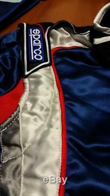 Suit Sparco Gloss X-7 Racing Suit Fia 8856-2000 Blue