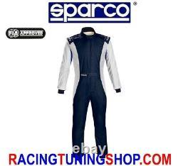 TUTA AUTO COMPETITION + SPARCO OMOLOGATA FIA RACING SUIT fia 8856-2000 tg 54