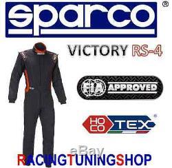 TUTA AUTO SPARCO VICTORY HOCOTEX FIA RACING RALLY SUIT 48 race suit COMBINAISON