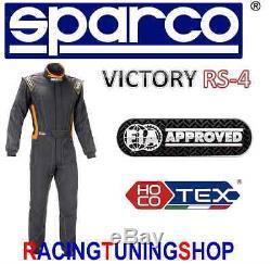TUTA AUTO SPARCO VICTORY HOCOTEX FIA RACING RALLY SUIT 50 race suit COMBINAISON