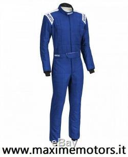TUTA SPARCO CONQUEST R506 blu omologata FIA 8856-2000 ignifuga nuova rally pista