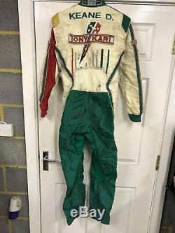 Tony Kart Suit Sparco race suit. OTK